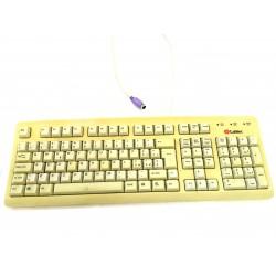 LABTEC Y-SM27 - Tastiera Giallo PS/2 Standard per PC