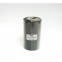 Ribbon TTR CERA RESINA B480 Alta Resistenza Nero 110mmx300mt