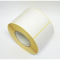 ETCO Etichetta Adesiva Carta Bianca in Rotolo da 1000Pz 100x100mm