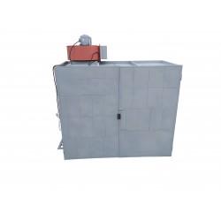 Cabina di Verniciatura a Velo d'Acqua 300x152x250cm Trifase 380V