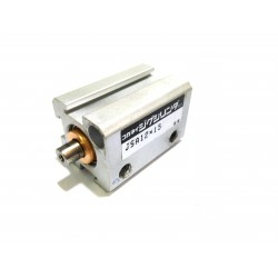 Cilindro Pneumatico Compatto Doppio Effetto Corsa 15mm 10bar Attacco M5