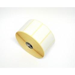 ZIPSHIP Etichetta Carta Termica Diretta Bianca in Rotolo da 2100Pz 57.15x31.75mm