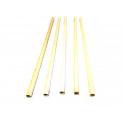 5x Tubi di Ceramica Resistenti a Temperatura Elevata L.500mm Ø.Int 8mm