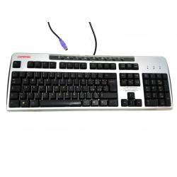 COMPAQ Mod.KB-0133 - Tastiera Standard per PC PS/2 - Nero/Grigio