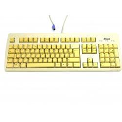 ENIAK RT2158TWIT - Tastiera PS/2 Standart per PC - Bianco