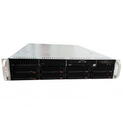 SuperMicro - ATX Rack Server Case Barebone 2U - PSU 560W - Backplane SAS/SATA - DVD-ROM