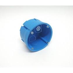 2Pz. EC34040 Scatola Tonda ad Incasso per Cartongesso 68x40mm