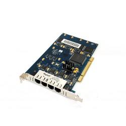 GEKKO - Scheda di rete PCI/E Fast Ethernet 4 Porte