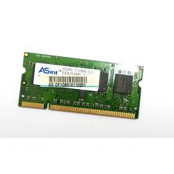 ASINT - Ram per Laptop DDR2 512MBb SSX264M8