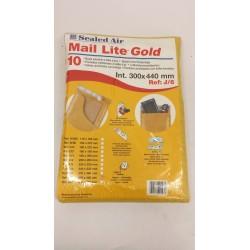 MAIL LITE GOLD-X20 BUSTE IMBOTTITE PLURIBALL 300X400mm ref:J/6