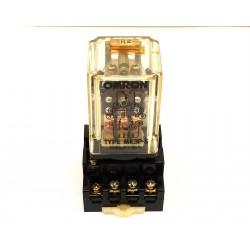 OMRON-RELAY 3 CONTATTI IN SCAMBIO MK3P-5 24VAC