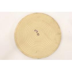 disco per lucidatura in cotone a forma di spirale 360mm