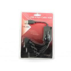 NILOX - Hub USB 4 Porte