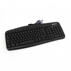 MICROSOFT - Tastiera per pc RT2300 PS/2 Nera