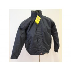 Dickies Bomber Cambridge JW23700 da Uomo Navy Blu - Taglia M