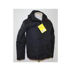Dickies Giacca Blake JW96000 da Uomo Nero/Rossa - Taglia L
