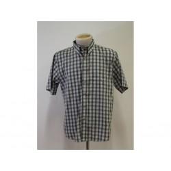 Dickies Camicia con bottoni da Uomo - Taglia L - a Quadri Viola / Verde / Bianca