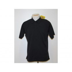 Dickies Polo T-shirt Bamboo tinta unita da Uomo - Taglia M - Nera