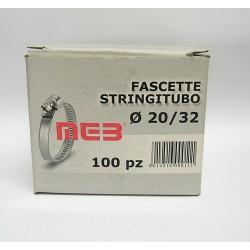 100 pz. MEB Fascetta Stringitubo d. 20-32 Banda 9
