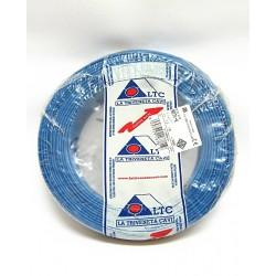 100mt. LTC NO7VK Cavo Elettrico Unipolare 1x1.5mm Blue