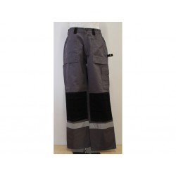 Dickies Pantalone GDT290 da Uomo Grigio/Nero - Taglia UK 32R/FR 42R