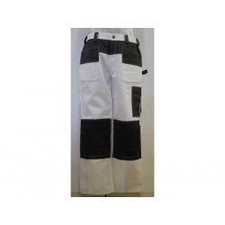 Dickies Pantalone GDT290 da Uomo Grigio/Bianco- Taglia UK 34R