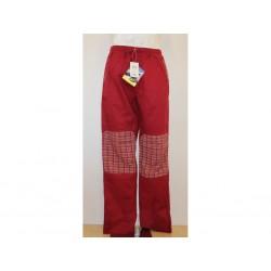 Ande M16045 - Pantalone da Trekking Rosso/Nero - Tg. XXL