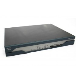 Cisco Router ADSL + ISDN Serie 1800 - 8xLAN 1xADSL 1xISDN -CF 64MB