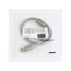 OEM S3101R - Cavo USB 2.0 80°C 30V con Connettori di Tipo A e B per Stampanti e Scanner - Lunghezza Cm. 75 - Beige