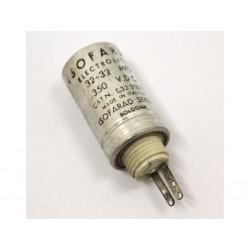ISOFARAD - Condensatore Elettrolitico 350VDC 32+32mfd