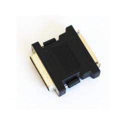 OEM 495986-00 - Adattatore SCSI da 50 PIN Femmina a 25 PIN Maschio - Nero