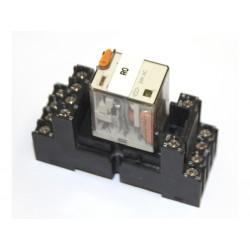 Relè 24V AC + zoccolo 2A 300 VAC 14 Pin