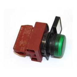 CEMA P9B10VN - Blocco Contatto con Interruttore Verde