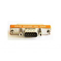 OEM - Adattatore Porta Seriale PIN Femmina 25P - Connettore Maschio 9P - PIN D25/D9