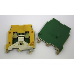 11x ENTRELEC 5113 M4/6P - Blocco Terminale 4mm² con Piastra Terminale
