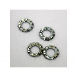 """BENERI 1055/12 - 1100pz x Rondelle Dentellate Tipo """"E"""" - 4mm"""