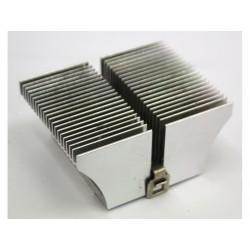 Dissipatore di Raffreddamento in Alluminio 80x63x34mm