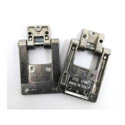 2x Cerniera in Alluminio Avvitabile