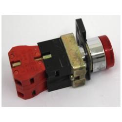 COMEPI ECX 1030 - Coppia di Microinterruttori con Pulsante Rosso