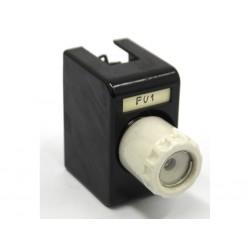 KEMA KEUR 5SB17 - Fusibile a Bottiglia 20A 500V con Supporto in Ceramica