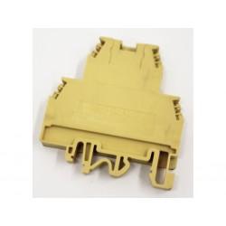 CABUR DCS 4 - Morsetto Passante con Piastra Terminale - 4mm2