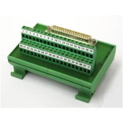 AB ELETTRONICA CM37- Modulo Connettore 37 Pin 16A - Maschio