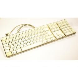 APPLE Keyboard KY4060EMSQPBA - Tastiera USB - 2 Entrate USB - Bianca
