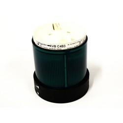 SCHNEIDER XVBC4B3 Colonna Luminosa - 24/48V - DC/24Vac - Verde - Ø 70mm