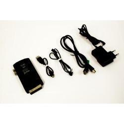 NILOX NX-DT50U Kit Ricevitore DVB-T - Presa Scart - 5V - 2A - Nero