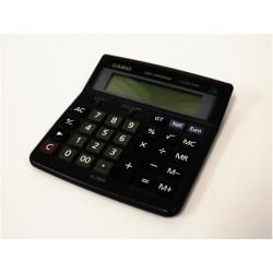 CASIO 12-DIGITS Calcolatrice - Conversione Euro - Blu - 2 Tipi di Alimentazione