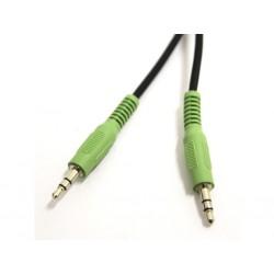 """Cavo Audio - Nero - M/M Jack 3.5"""" - 1.85Mt"""