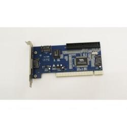 NILOX NM-018 - 3 Porte SATA + 1 IDE PCI