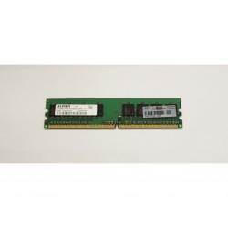 ELPIDA EBE51UD8AGWA-6E-E - Memoria Ram DDR2 - 512 MB - 1Rx8 PC2-5300U-555