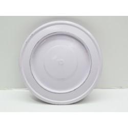 Rosone Ø 15 cm per tubi stufa/caldaia bianco